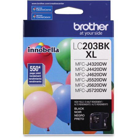 Brother LC203BK Noire Cartouche d'encre haute capacité XL Originale
