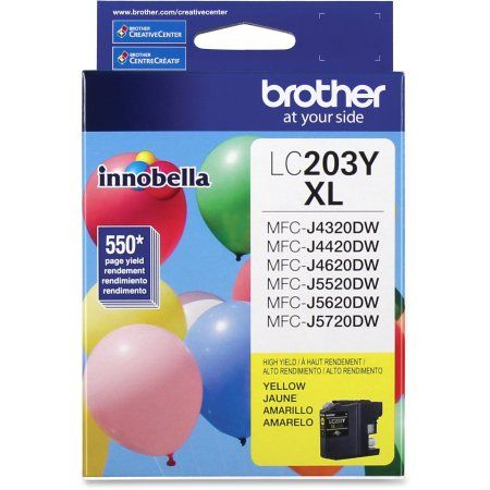 Brother LC203Y Jaune Cartouche d'encre haute capacité XL Originale