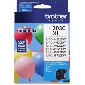 Brother LC203C Cyan Cartouche d'encre haute capacité XL Originale